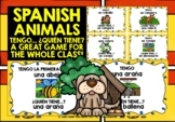 SPANISH ANIMALS I HAVE, WHO HAS? 2 GAMES & CHALLENGES!
