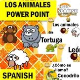 SPANISH: ANIMALES (Power Point)