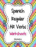 SPANISH AR VERBS WORKSHEETS