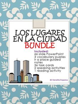 """SPANISH AROUND THE TOWN """"LOS LUGARES DE LA CIUDAD"""" BUNDLE"""