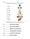 SPANISH ARTICLES, ARTICULOS, EL, ELLA, LOS, LAS,