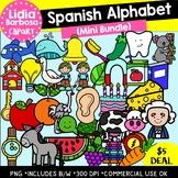SPANISH Alphabet Mini Bundle- Digital Clipart