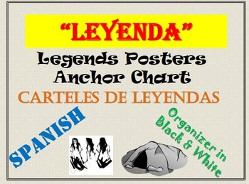 SPANISH Anchor Charts for LEGENDS-Carteles de LEYENDAS
