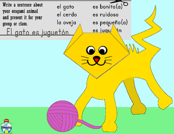 SPANISH: Animal Vocabulary