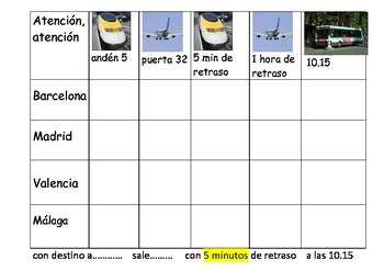 SPANISH - BATTLESHIPS - Atencion atencion TRAVEL