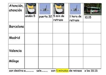 SPANISH - BATTLESHIPS - Atencion atencion TRAVEL