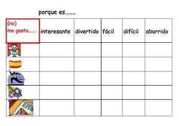 SPANISH - BATTLESHIPS - El Colegio (school)