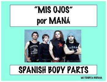 """SPANISH BODY PARTS """"EL CUERPO"""" BUNDLE"""