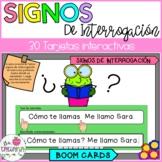 Los Signos de Interrogación   Boom Cards