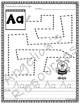 SPANISH Back to School Activities Bundle : Literacy, Math, Crowns, and Puzzles