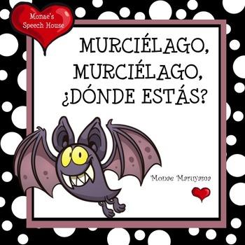 SPANISH Bats Halloween ELL