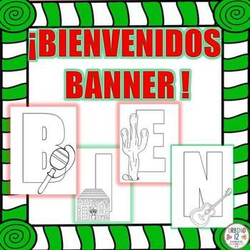 Bienvenidos Banner (Cultura Mexicana)