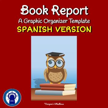 SPANISH Book Report Template