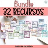 SPANISH Bundle - Acentos, verbos, adverbios, sustantivos,