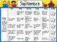 SPANISH Bundle Kindergarten Homework Calendars Sept-June *Common Core Aligned*