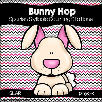 SPANISH: Bunny Hop Syllable Counting