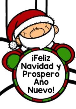 SPANISH CHRISTMAS DESIGN GAMES & QUIZZES