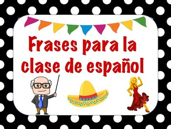 SPANISH CLASS POSTERS: USEFUL PHRASES