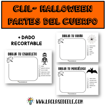 SPANISH CLIL HALLOWEEN PARTS OF THE BODY