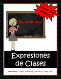 "SPANISH ""Classroom Expressions"" POSTERS"