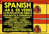 SPANISH CONJUGATION DRILLS BUNDLE #1
