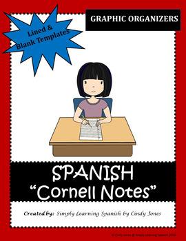 SPANISH CORNELL NOTES (Graphic Organizer)
