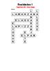 SPANISH - CROSSWORD - Realidades 1 Capítulo 3A ( very easy)