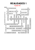 SPANISH - CROSSWORD - Realidades 1 Capítulo 4A