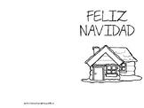 12 - SPANISH Christmas Cards: Feliz Navidad, Set 1 Tarjeta