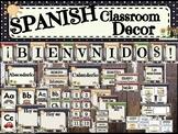 SPANISH Classroom Decor - Farm/Cow - Decoraciones de clase en español