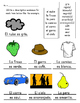 SPANISH: Color Review Vocabulary Practice