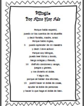 "SPANISH Complete Poem-""Bilingüe"""