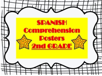 SPANISH Comprehension 2nd Grade Posters