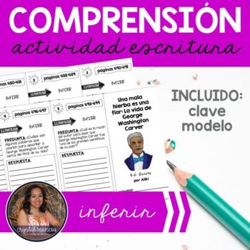 SPANISH Comprehension Trifold - Una Mala Hierba  es Una Flor