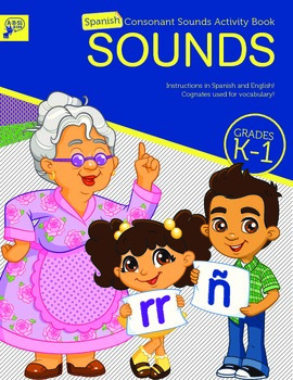 SPANISH Consonant Sounds with English and Spanish Instructions