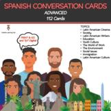 SPANISH Conversation Cards - Advanced Speaking Activities
