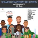 SPANISH Conversation Cards - Intermediate Speaking Activities