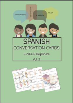 SPANISH Conversation Cards LEVEL: Beginners VOL.2