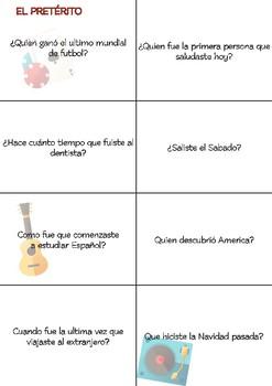 SPANISH Conversation Cards LEVEL: Intermediate VOL.2