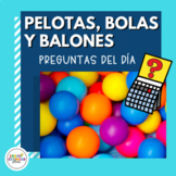 SPANISH BALLS - Question of the Day Creative Curriculum Teaching Strategies Gold