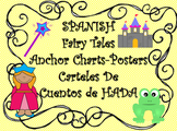 "SPANISH-""Cuento de Hadas"" Anchor Chart-Posters"
