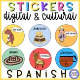 Spanish Digital Stickers