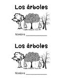SPANISH & ENGLISH Emergent Reader: Trees