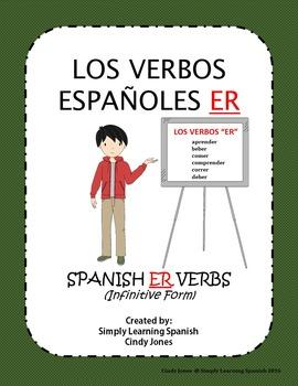 "SPANISH ""ER VERBS"""