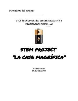 SPANISH Electrical Engineer STEM Challenge!