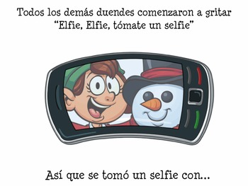 SPANISH Elfie Elfie Take a Selfie