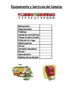 SPANISH - Equipamiento y Servicios del Camping