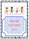 SPANISH-Exit Ticket (K-5)
