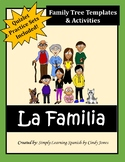 SPANISH FAMILY UNIT *Family Tree Included!