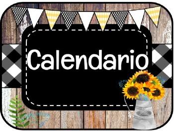 SPANISH FARMHOUSE CALENDAR / Calendario